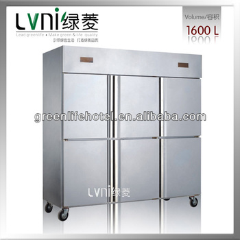 Restaurant Kitchen Refrigerator lvni gd1600l6 standard commercial use kitchen freezers