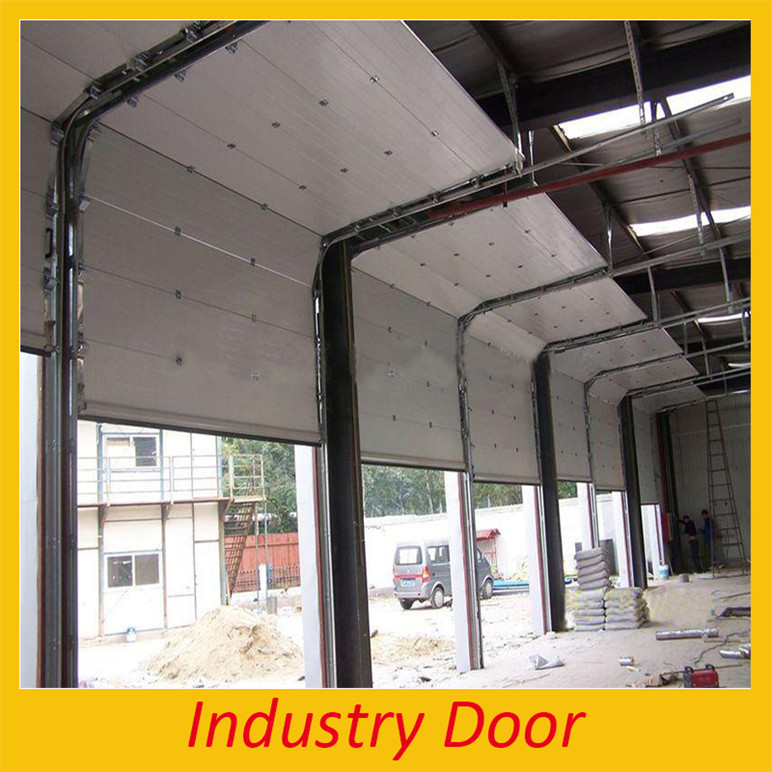 Factory Wholesale High Class Steel Over Head Rolling Door Industrial Sectional Garage door