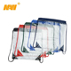 sport promotional pvc clear drawstring backpack bag