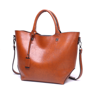 Mature women handbag, fashion lady leather handbag wholesale
