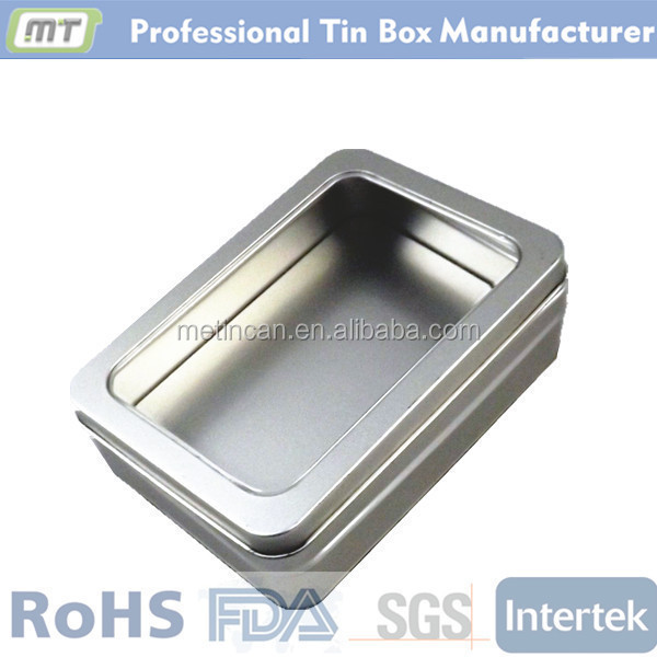 rectangular tin display box for digital product