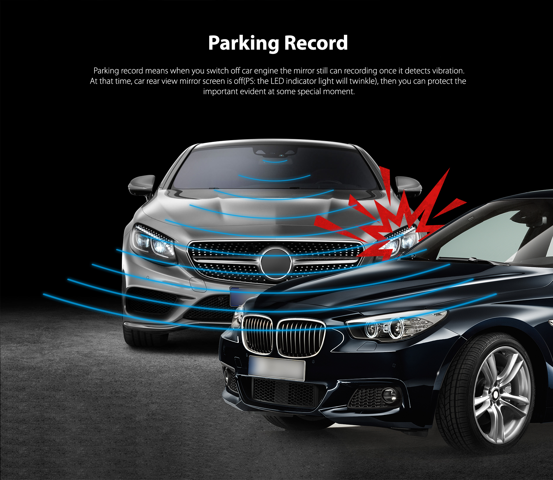 2018 wifi Dual kanal dvr benutzer manuelle manuelle 1080 p dash cam dvr perfekte nachtsicht für auto dvr aufnahme
