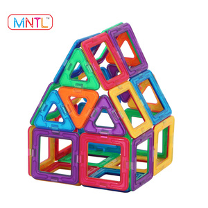 MNTL 65-PCS Hot Sales Round Magnetic Blocks Best Price 3D DIY Models Intellectual Magnetic Building Toys