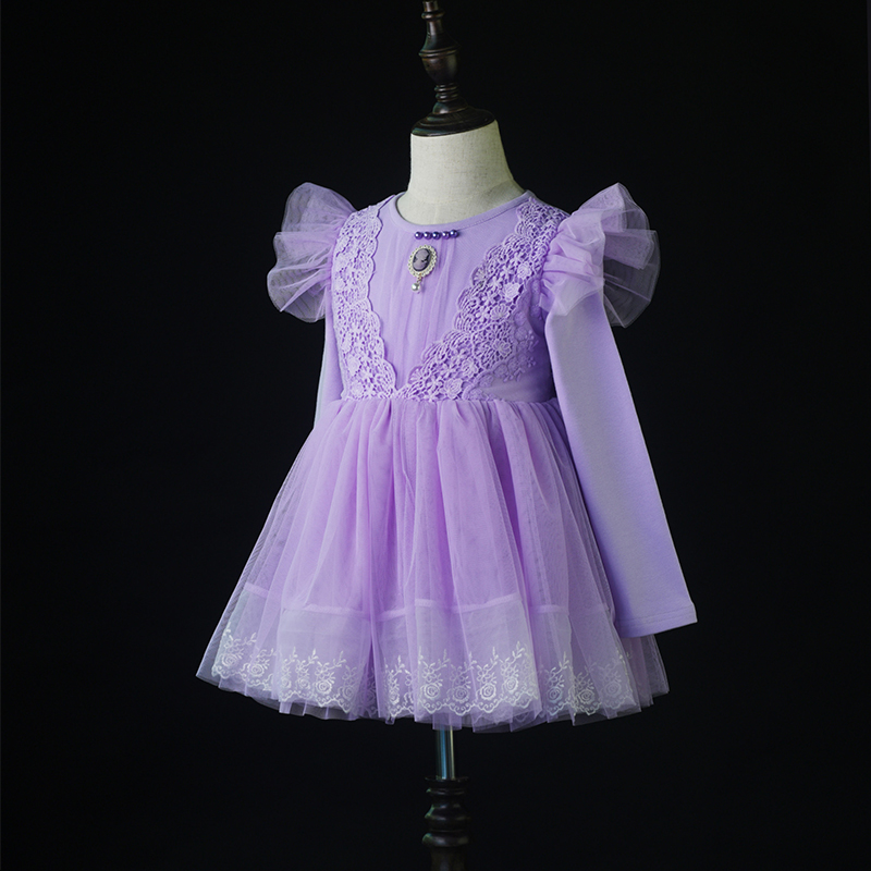 Best selling 3 year old latest fashion new style girl fancy frocks party wear dress in india