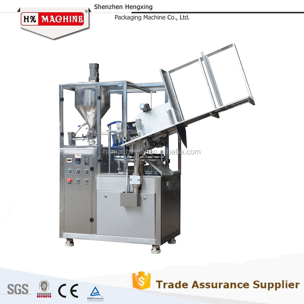 Food Grade Chocolate Paste Tube SS304 Filling Packing Machine