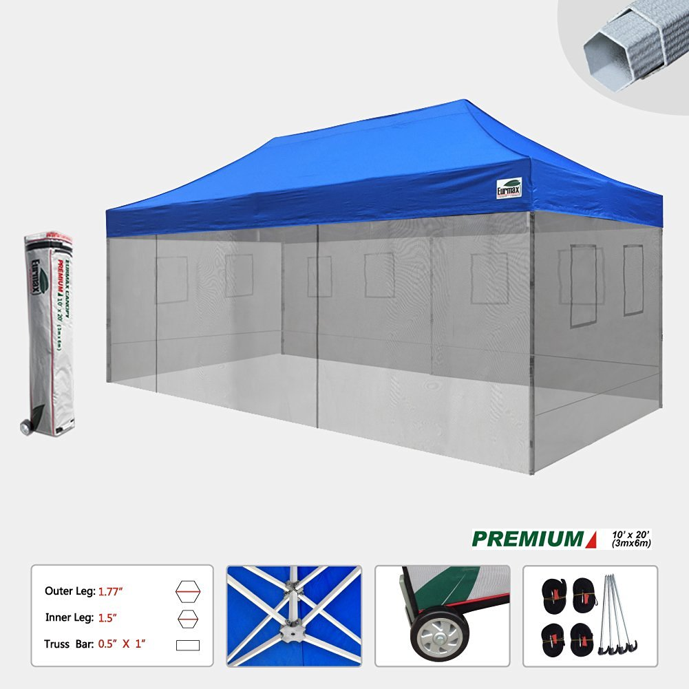 Get Quotations · New Premium 10x20 Feet Food Service Vendor Tent Pop up Canopy with 4 Removable Zipper End  sc 1 st  Alibaba & Cheap 10x20 Canopy With Sidewalls find 10x20 Canopy With ...