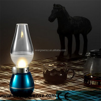 Blow control lamp Adjustable light night light Classic kerosene lamp LED bedside table lamp for Holiday gifts