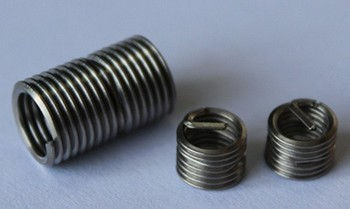 304 Stainless Steel Self-locking Threaded Inserts For Aluminum ...