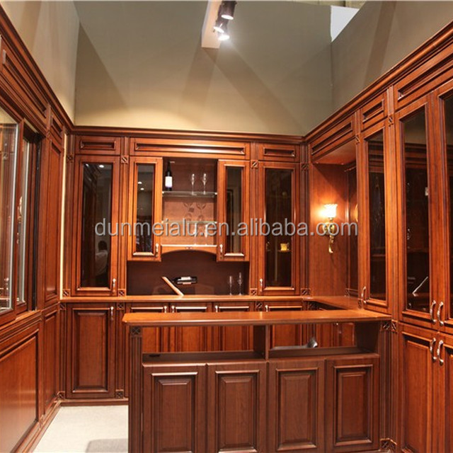 Hot Sale Antique Cherry Wood MDF Wooden Cabinet