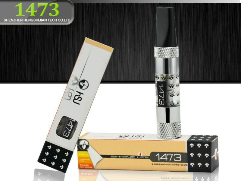 Rebuildable bottom coil HSJ 1473 PC tube variable voltage battery 510 thread China supplier hot selling in South Korea