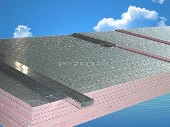 Pre Insulated Phenolic Board Phenolic Foam Wall Roof