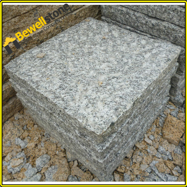 3cm Thick Chinese Grey Granite Patio Cobblestone Pavers - Buy ...