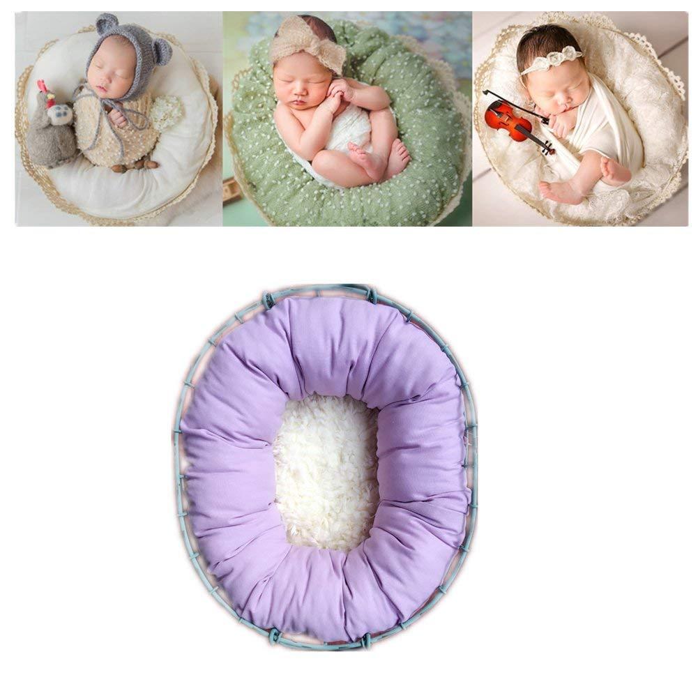 520a99978 Buy LB Round Cream Newborn Posing Bean Bag 33 X10  Travel Size ...