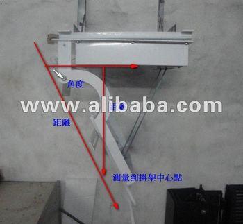 Motorized lcd led tv flip down lift ceiling mount 32 40 for Motorized drop down tv mount