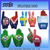 Hot selling top quality fashion customized PVC inflatable hand toy
