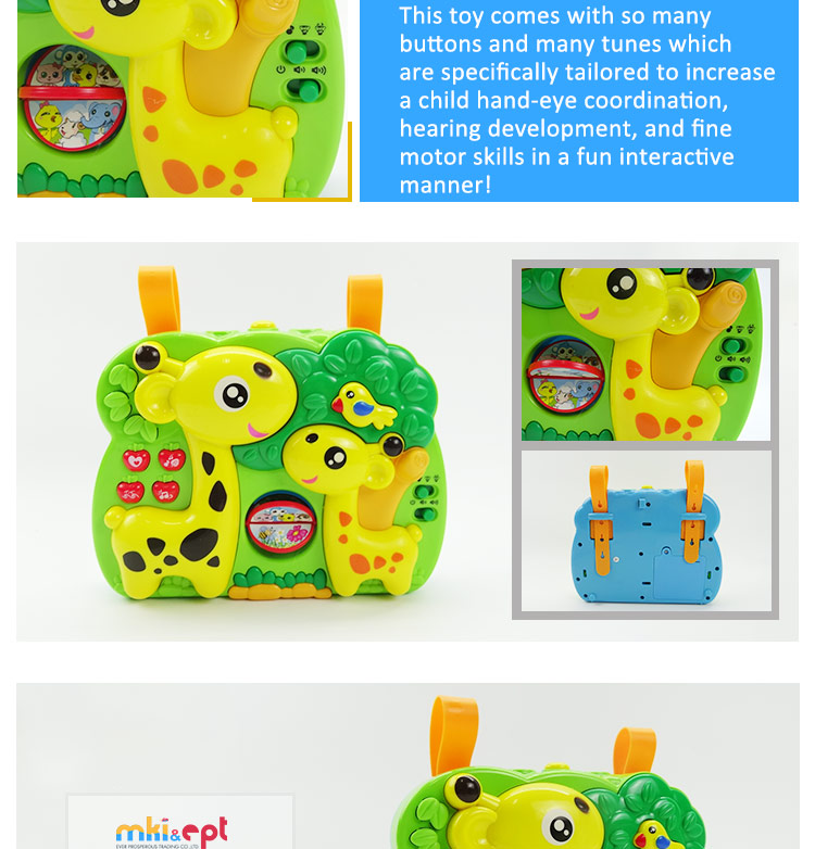 Funny Baby Electronic Cartoon Deer Animal Muscial ABS Light up Toy 4*AA.jpg