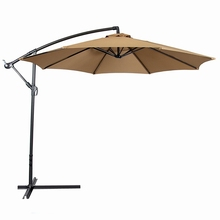 10ft outdoor banana umbrella sun garden parasol 10ft patio umbrella