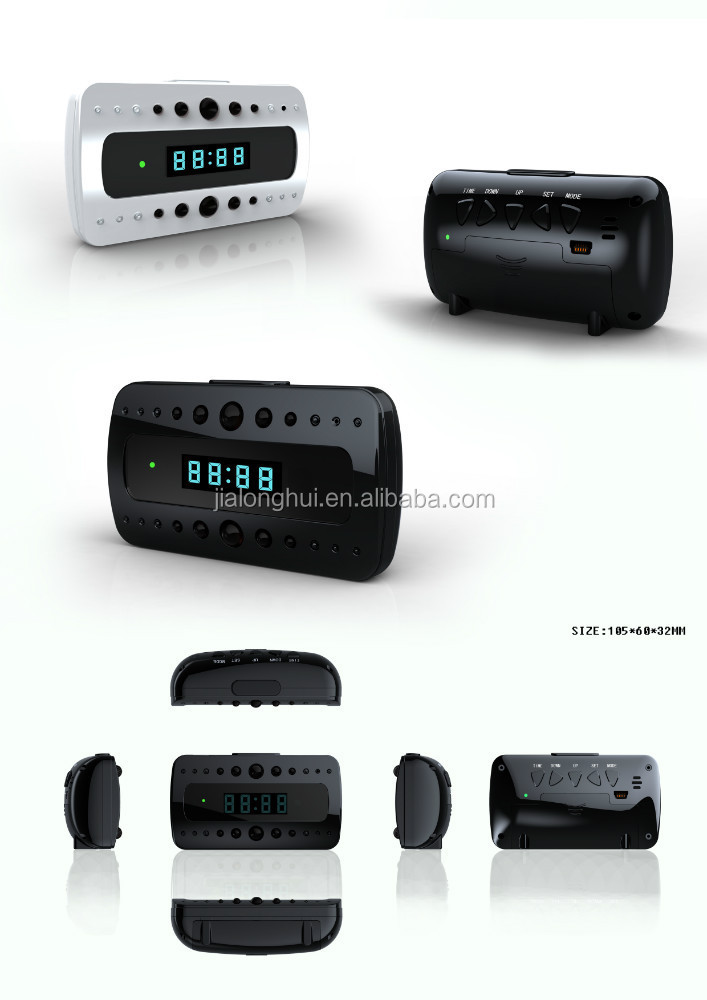 Wireless wall WiFi IP hidden Clock Camera T10 P2P IR Night Vision Camcorder H.264 Remote Control Mini DV/DVR