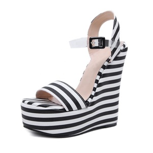 5a048564341c78 China women sandals wedge wholesale 🇨🇳 - Alibaba
