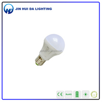best seller plastic cover e27 day night light sensor led bulb smd led bulb 5w
