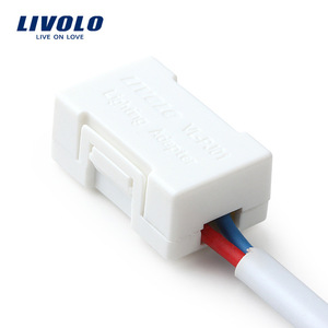 Livolo Saviour of the Low-wattage LED Lamp White Plastic Materials Lighting Adapter VL-PJ01