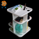 Top Grade Wholesale Acrylic Revolving Makeup Clear Cosmetic Storage Organizer