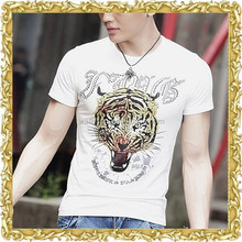 latest design cotton slim fit being human t shirt for men manufacturer