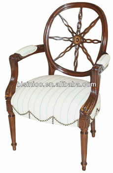 Queen Anne Living Room Furniture-single Arm Chair/sofa Chair,Hand ...