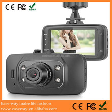 GS8000 car gps navigation with wireless rearview camera , 1080p car DVR camera video recorde