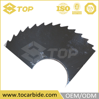 New design tungsten carbide saw tips, universal saw blade, slitter carbide blade
