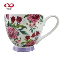 Environmental Friendly Restaurant Hotel Ceramic Tea Cups, Germany Catering Coffee Cup Set