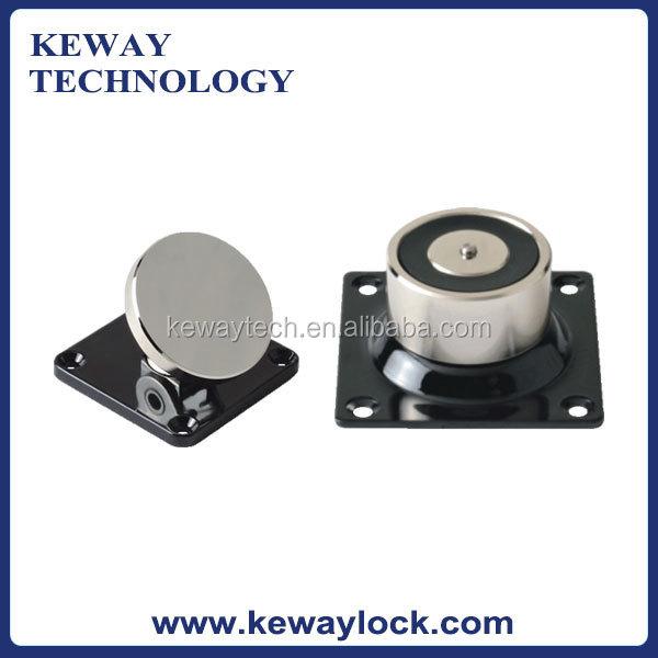 24v or 12v wall mounted magnetic door stop and holder 50kg door stopper