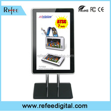 Remote control digital adds display, Android Mini shelf / wall mount ad display