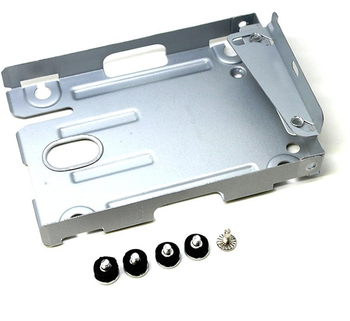 New Bracket For PS3 Super Slim 4000 HDD Hard Disk Drive Mounting Bracket Caddy Case & Screws
