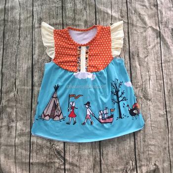 5e5076e19 Wholesale Thanksgiving Day Turkey 2016 Child Clothes Girls Turkey ...