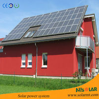 New design 30kw solar electricity generation system include solar power inverter for Chile market