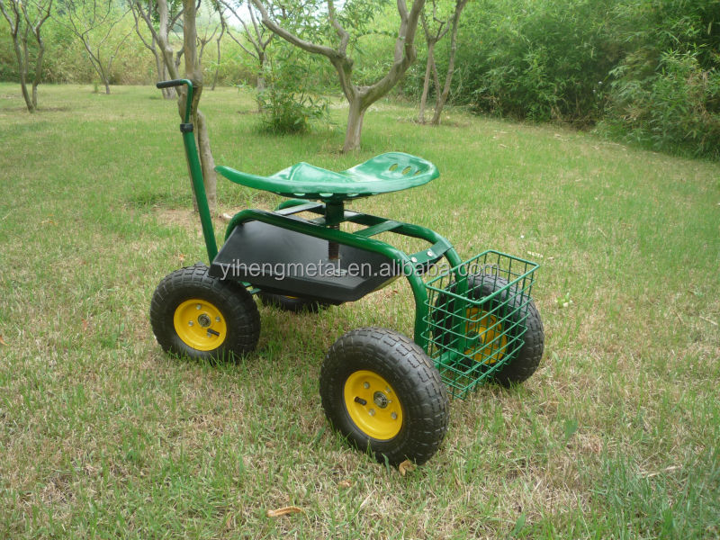 Garden Caddy Tractor Seat On Wheels Tc4501b Buy Garden Tractor