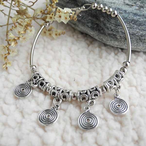 beautiful tibetan silver jewelry chic women bracelet ...