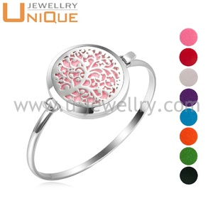 Indian Bangle Sex Bangle Stainless Steel Scented Diffuser Locket Bangle Bracelet