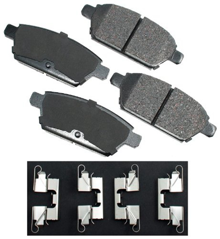 Groothandel Auto Deel Auto Disc Break Pads Set D-1161 voor Lincoln FORD Mazda