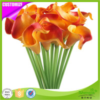 Top sale real touch artificial calla lily flower beauty wedding bouquets
