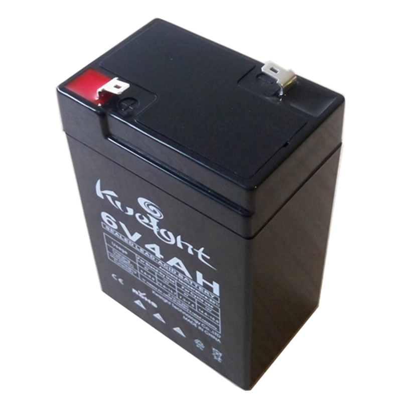 6V Voltage and 70*47*101 mm Size 6V4ah lead acid battery