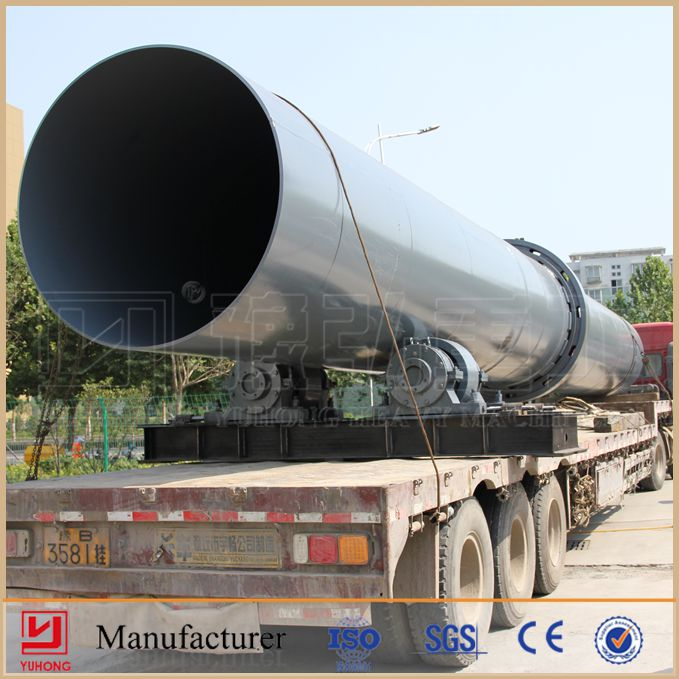 China Manufacturer Henan YUHONG ISO9001 Ceramic Sand Rotary Kiln In Cement Industry,Quick Lime,Clay, Bauxite, etc.