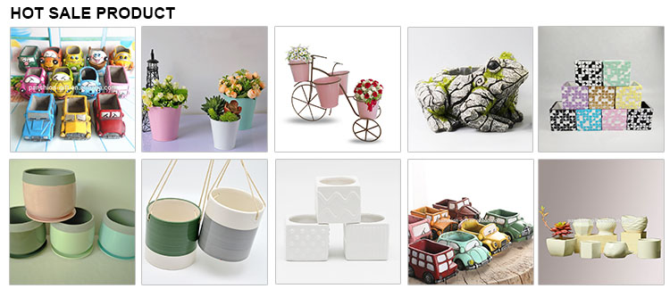Современные пользовательские Крытый мини висит цветочный горшок керамика
