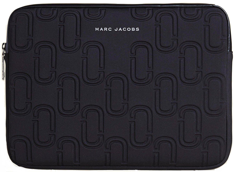 "Marc by Marc Jacobs Dreamy Logo Neoprene 13"" Computer Case Laptop Case Black One Size"