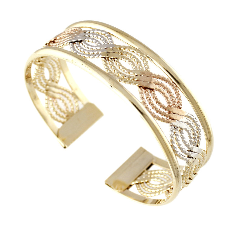 Turkish Jewelry Wholesale Fashion Jewelry Gold Bangle Bracelet