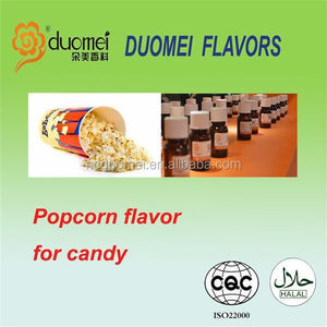 Popcorn flavoring candy flavor for food