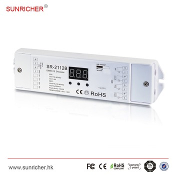 4 Channel Led Rgbw Dmx Decoder - Buy Led Controller Wifi,Rgb Led Decoder,Rf  Admittance Level Controller Product on Alibaba com