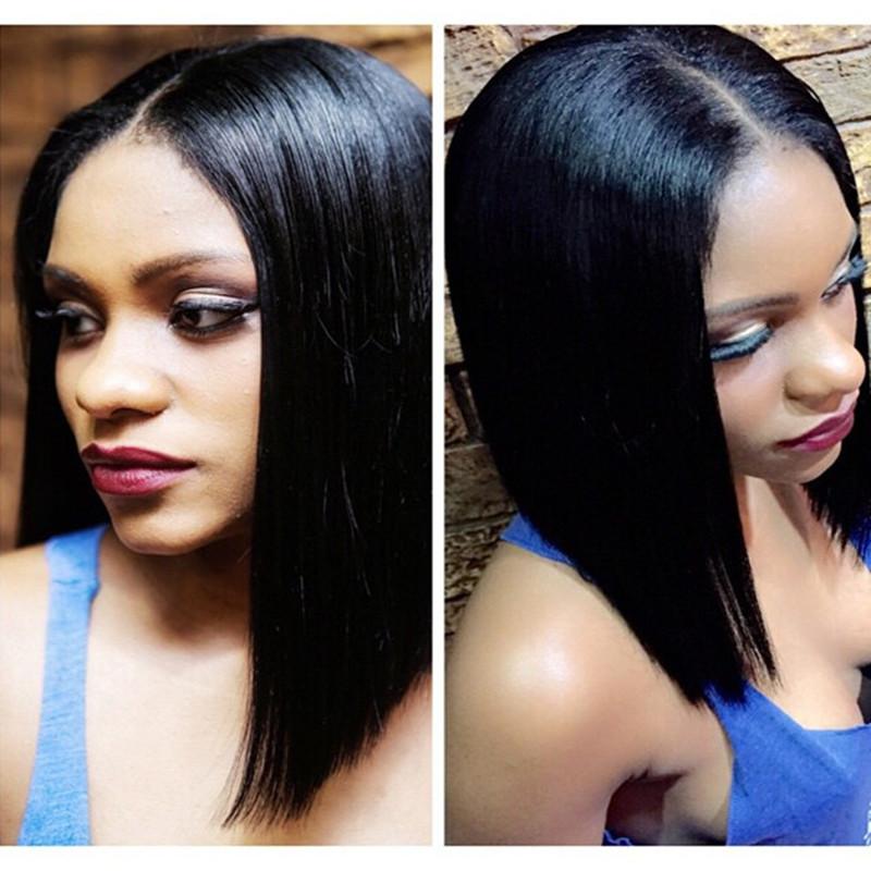 Hotsale brazilian lace front long bob wig &full lace wig