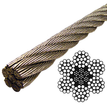 decorative applications 1x19 stainless steel cable
